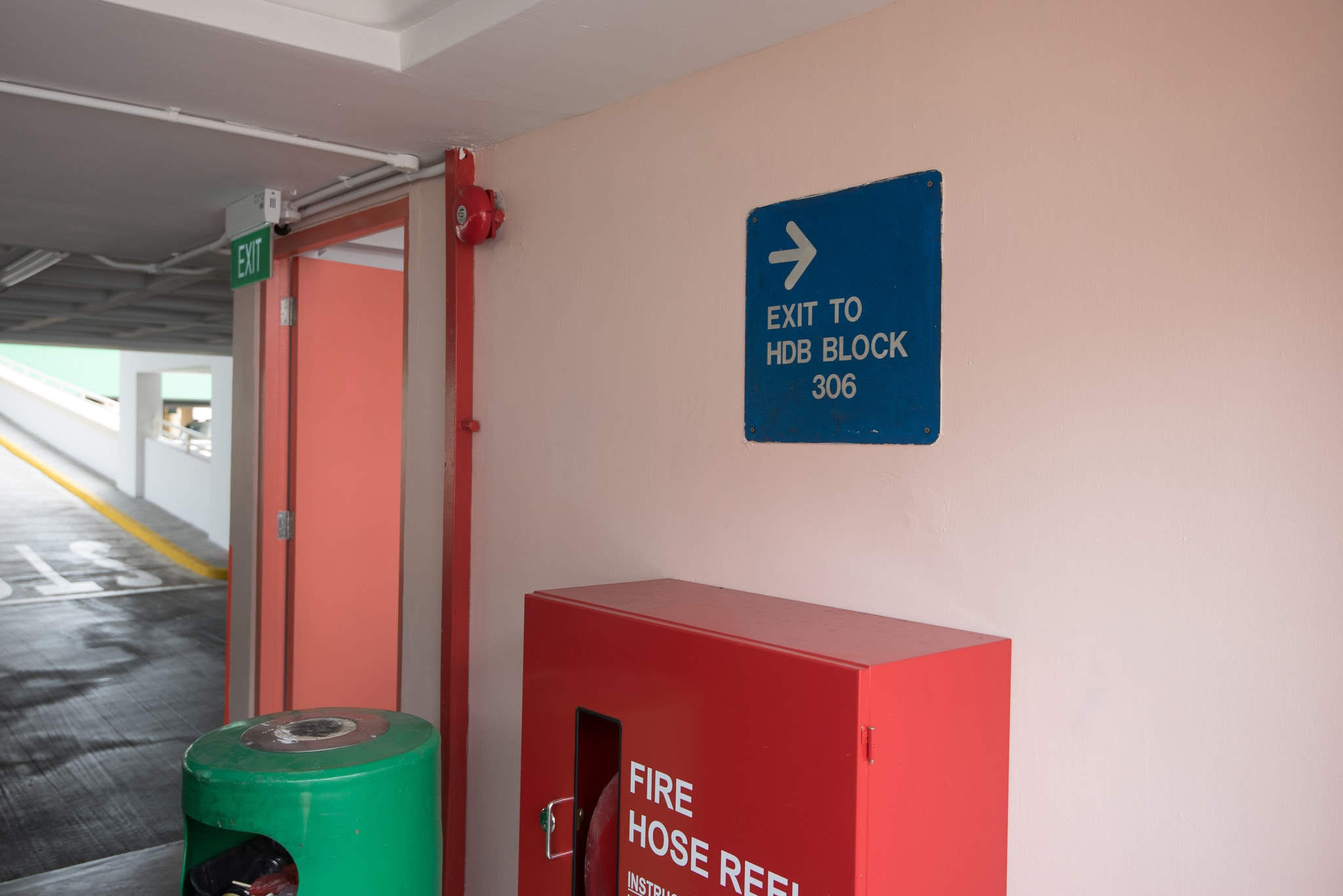 Instruction 16 (Exit to HDB BLOCK 306 OF THE MSCP)